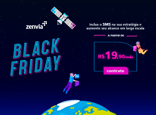 Black Friday SMS Zenvia